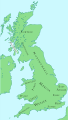 Britain around the year 800