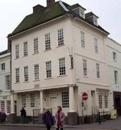 Johnson's birthplace in Market Square, Lichfield