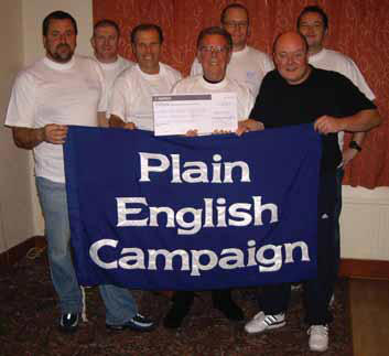 Photo: Plain English Campaign